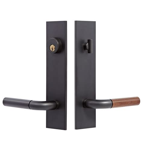 Exterior Door Closers Tumalo Walnut Lever Exterior Door Set Rejuvenation