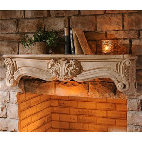 Ornate Mantel Shelf by Kirklands Ornate Mantel Wall Shelf 48 In