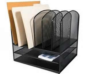 Paper Organizer For Desk Adir Corp Mesh Desk Organizer Paper Organizer Desktop File Holder File Ebay