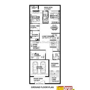 32 Square Meters To Feet house plan for 32 feet by 80 feet plot plot size 284