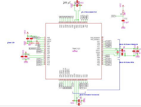 msp430 layout guidelines resolved standard schematic for cortex m4 tm4c