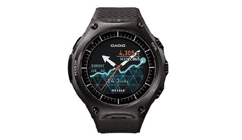 rugged smartwatch casio launches rugged wsd f10 smartwatch priced at 500 187 phoneradar