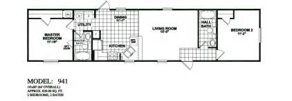 2 bedroom 1 bath mobile home floor plans model 941 14x60 2bedroom 2bath oak creek mobile home tiny houses manufactured homes modular