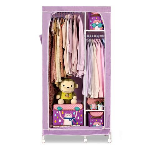 Cloth Closet Portable Cupboard Plastic Folding Cloth Closet Custom Made