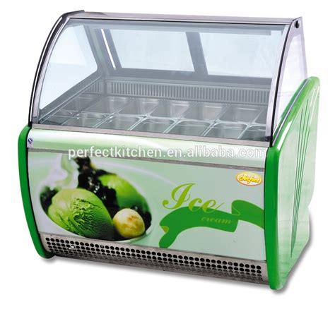 Freezer Gelato 2016 wholesale gelato display fridge cake display freezer used freezers
