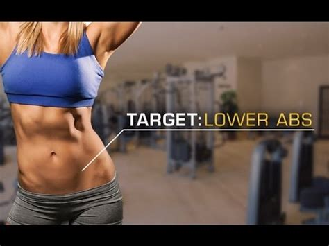 best lower ab workout for lose that lower abs pooch
