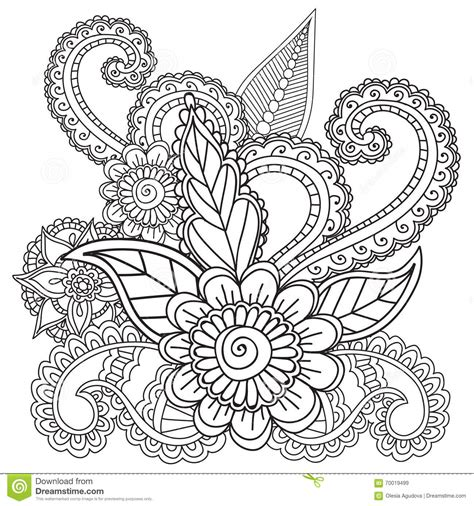 coloring pages henna art coloring pages adults henna mehndi doodles abstract floral