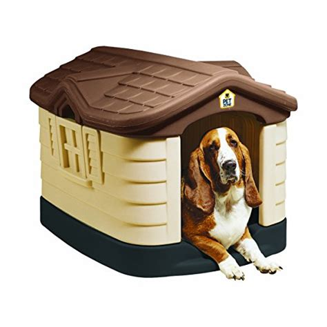 indestructible dog house pet zone cozy cottage durable plastic dog house indestructible dog crates