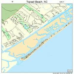 topsail island carolina map topsail carolina map 3768040