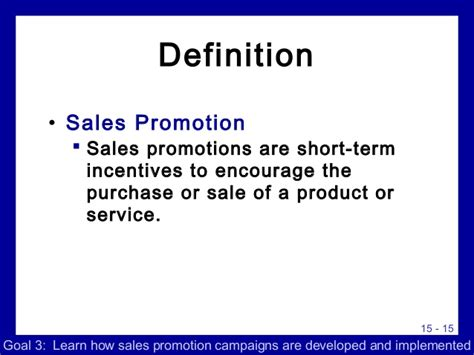 Sales Promotion Letter Meaning advertising sales promo