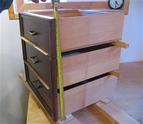 building a chest of drawers