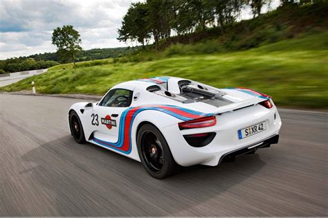 Porsche Racing Colours by Porsche Testing 918 Spyder At N 252 Rburgring In Martini