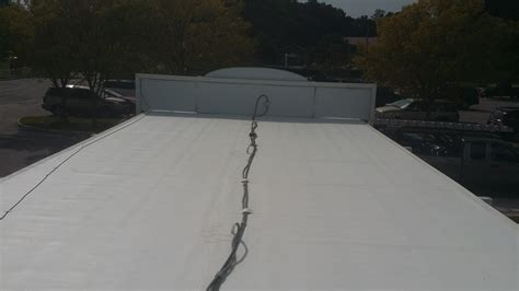 Flat Roof Systems New Tpo Flat Roof Installed In Virginia