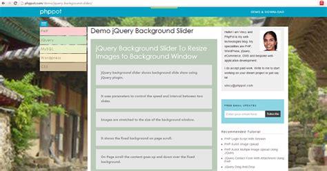 jquery div slider jquery background slider