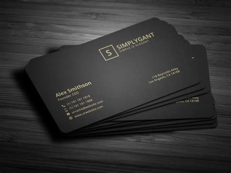 gwen designs card template luxurious gold business card business card templates