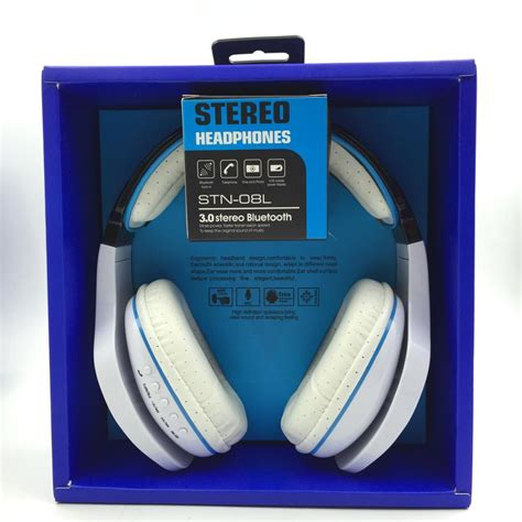 Headphone Bluetooth Stn 08l Large Stereo Headphone wireless headphones bluetooth headset stn 08l fm stereo