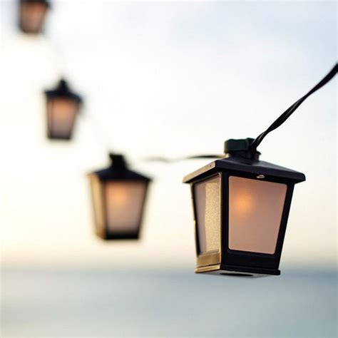 lantern lights string fancy malta mini lantern string lights