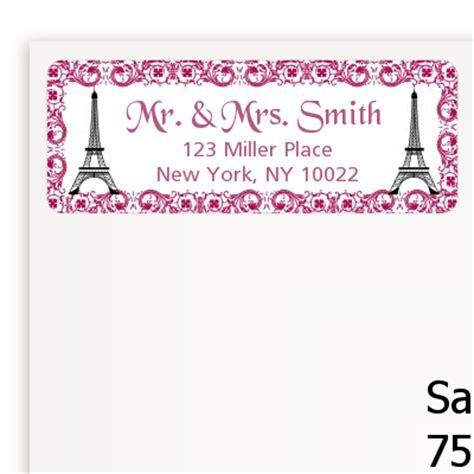 Bridal Address by Bridal Shower Return Address Labels Bridal Shower