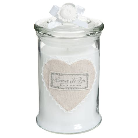 bomboniere candela candela profumata bomboniera in vetro h 15 cm c蜥ur