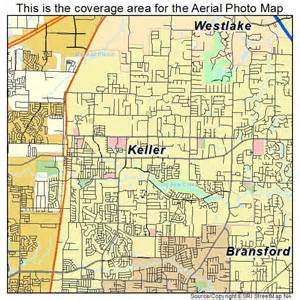 aerial photography map of keller tx