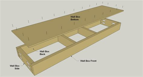 Floating Wall Shelf Plans by Floating Shelf With Storage Buildsomething