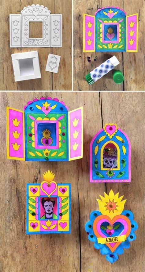 Mexican Paper Crafts - best 25 mexican crafts ideas on mexican