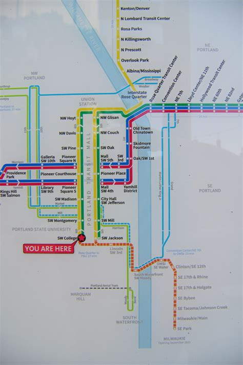 trimet max map milwaukie lrt archives portland transport