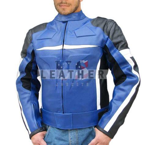blue motorcycle jacket blue motorcycle custom leather jackets