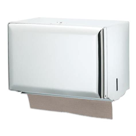 Single Fold Paper Towel Dispenser - san jamar t1800wh single fold white towel dispenser