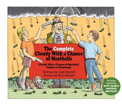 left to chance a novel books the complete cloudy with a chance of meatballs book by