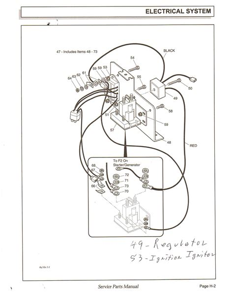 ez go golf cart gas engine diagram ez free engine image