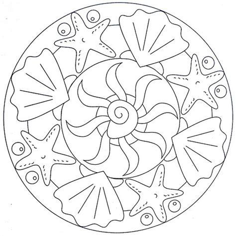 Ocean Mandala Coloring Pages | mandala coloring page sea flickr photo sharing