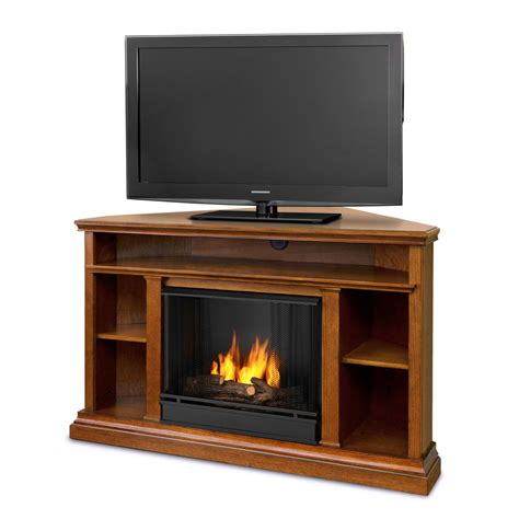corner entertainment center fireplace 50 75 quot churchchill oak entertainment center corner gel