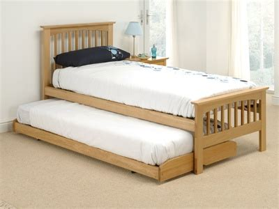 compare beds comfort home comfort sheywood guest bed solid oak single 3