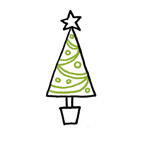 images of christmas tree for drawing how to draw a christmas tree 4 cartoon tutorials