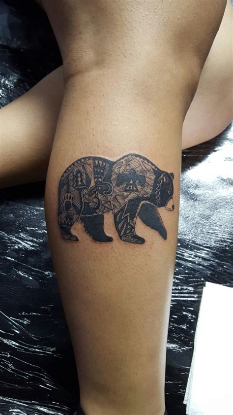 california bear tattoo california ig primo ak47 my work