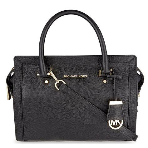 michael by michael kors collins black large satchel from brand boudoir uk