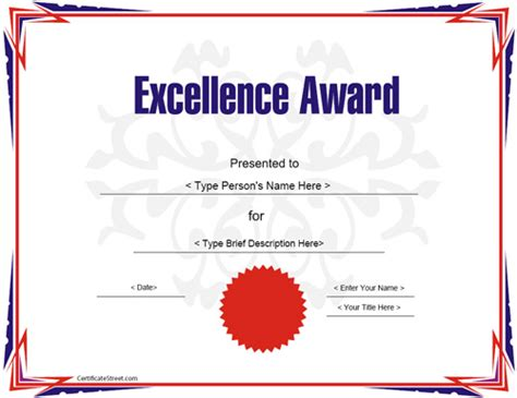 high resolution certificate template education certificate award certificate template for