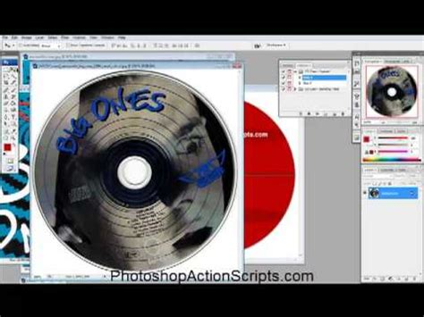 How To Make A Cd Cover Out Of Paper - adobe illustrator creating a cd label doovi