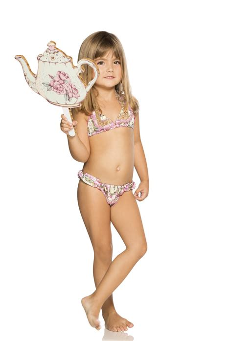 bikinis kids agua bendita kids bendito poema bikini set kids boutique