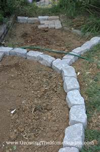 Patio Stones Cheap Building A Paving Stone Pathway Growing The Home Garden