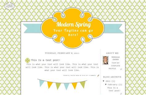 cute blog layout design modern spring blog template the cutest blog on the block