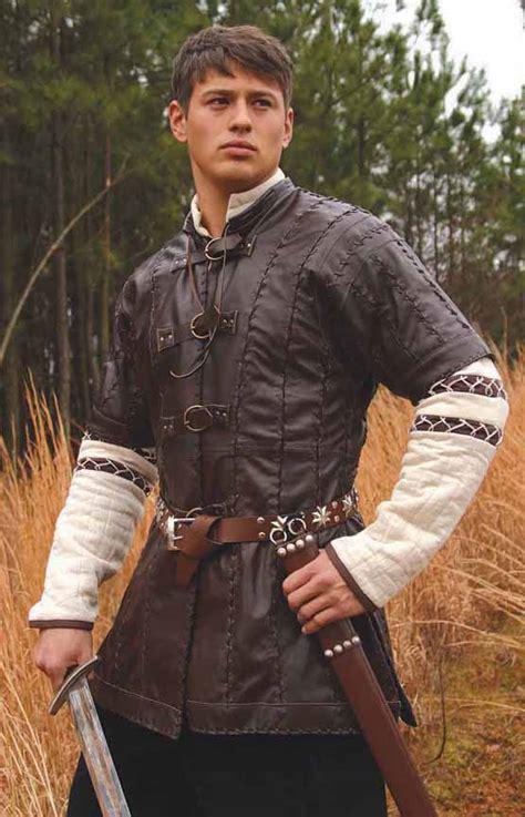 leather jerkin renaissance clothing costumes