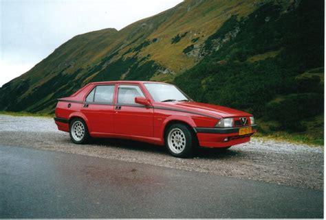 Alfa Romeo 75 by Alfa Romeo 75 Technical Details History Photos On Better