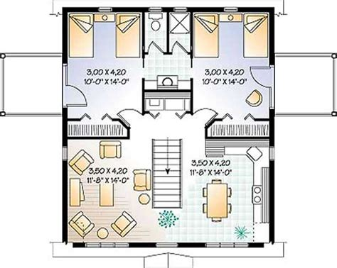 Second Story Floor Plans Garage Vacation Homes Country Ranch Farmhouse House