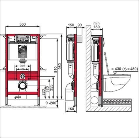 Electronic Bidets Tece In Wall Cistern Frame 980mm