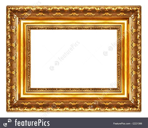 Templates Golden Frame Stock Picture I2221399 At Featurepics Picture Templates