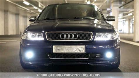 2011 Audi A4 Headlights Audi A4 B5 Led Xenon Kit Demonstration Vol2 New