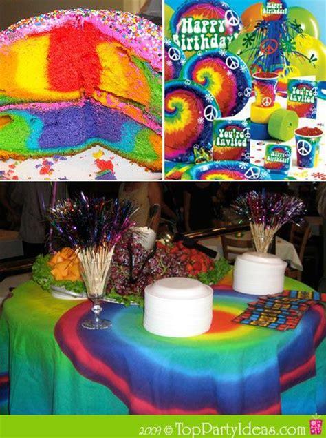 hippie theme decorations 60s retro ideas tie dye theme hippie theme