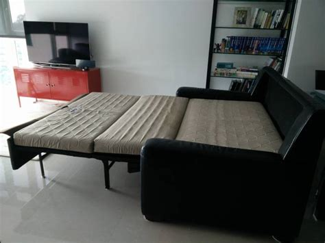 sleeper sofa singapore leather sofa bed black singapore classifieds